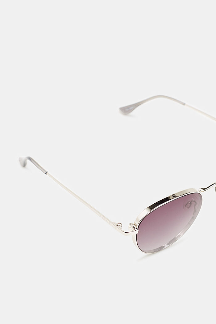 Sunglasses with mirrored lenses, GREY, detail image number 1