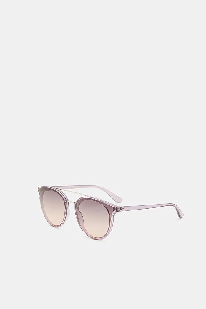 Sunglasses with a metal bridge, PURPLE, detail image number 3