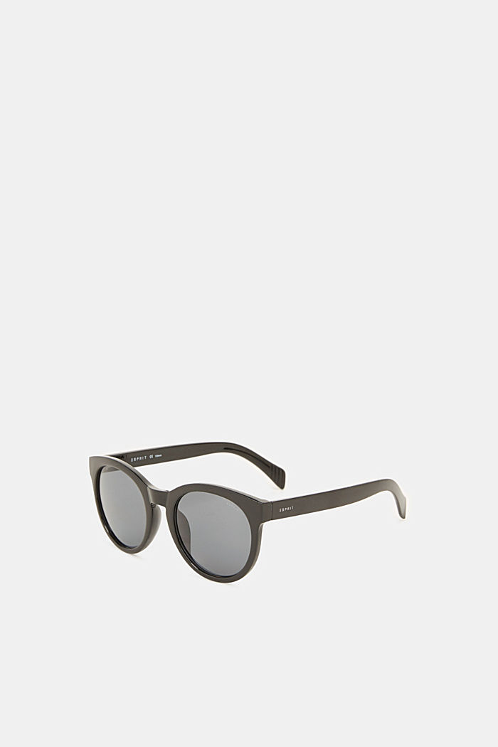 Sunglasses with transparent frame, BLACK, detail image number 3