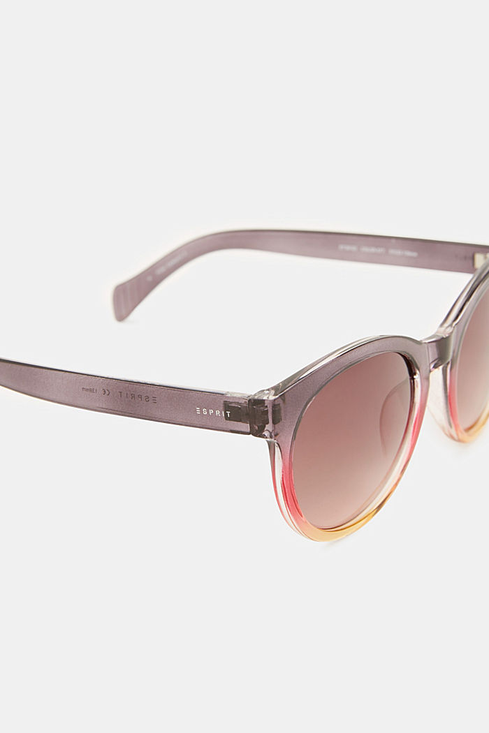 Sunglasses with transparent frame, PURPLE, detail image number 3
