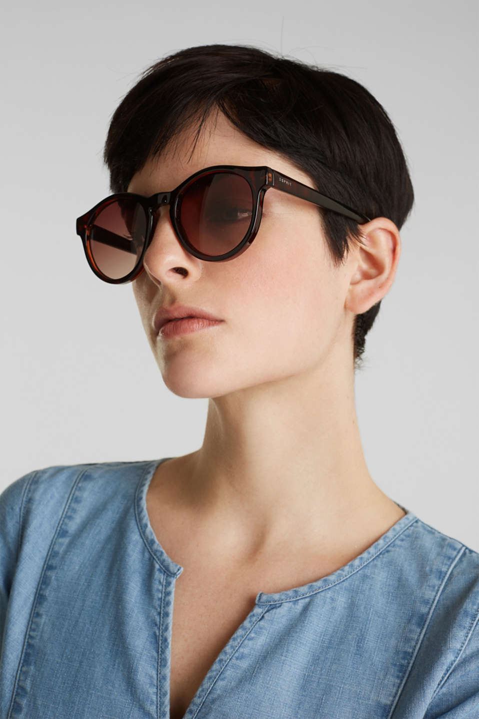 Sunglasses with round lenses, LCHAVANNA, detail image number 2