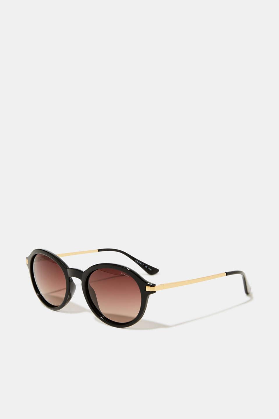 Sunglasses with polarised lenses, DARK BROWN, detail image number 0