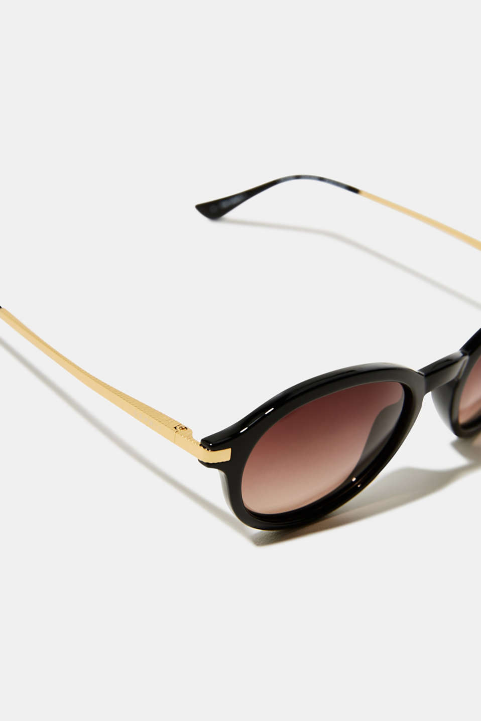 Sunglasses with polarised lenses, DARK BROWN, detail image number 1