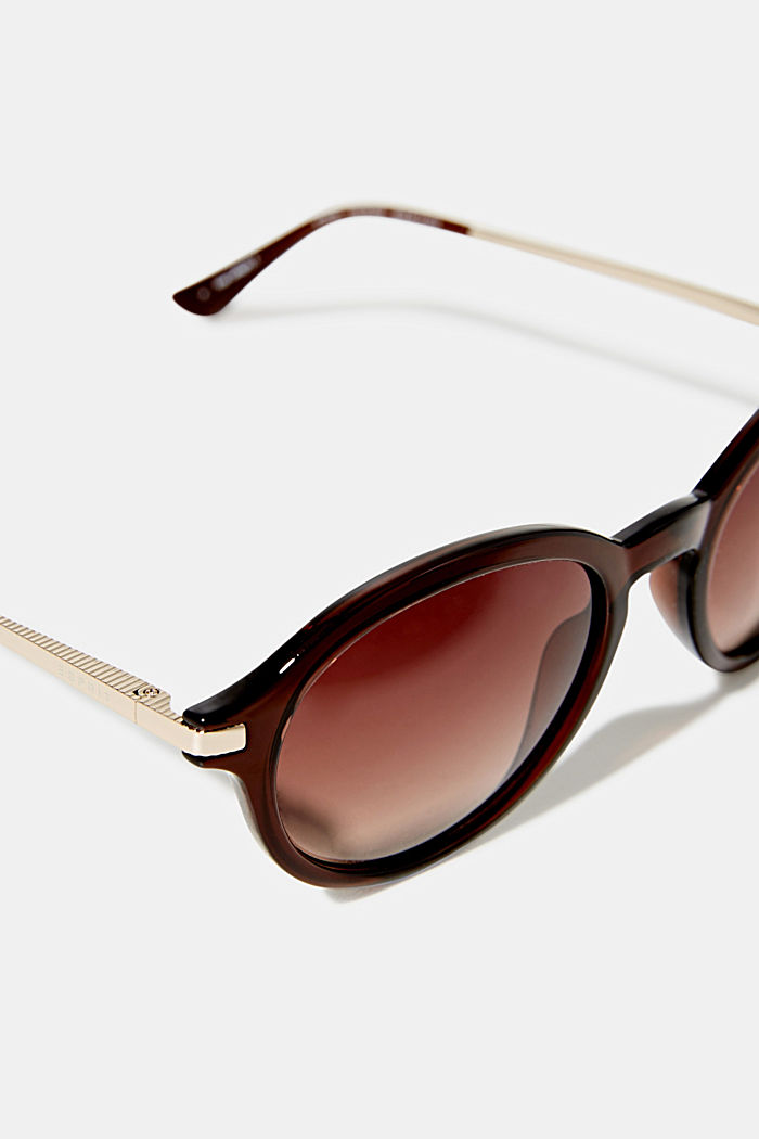 Graduated colour sunglasses, BROWN, detail image number 1
