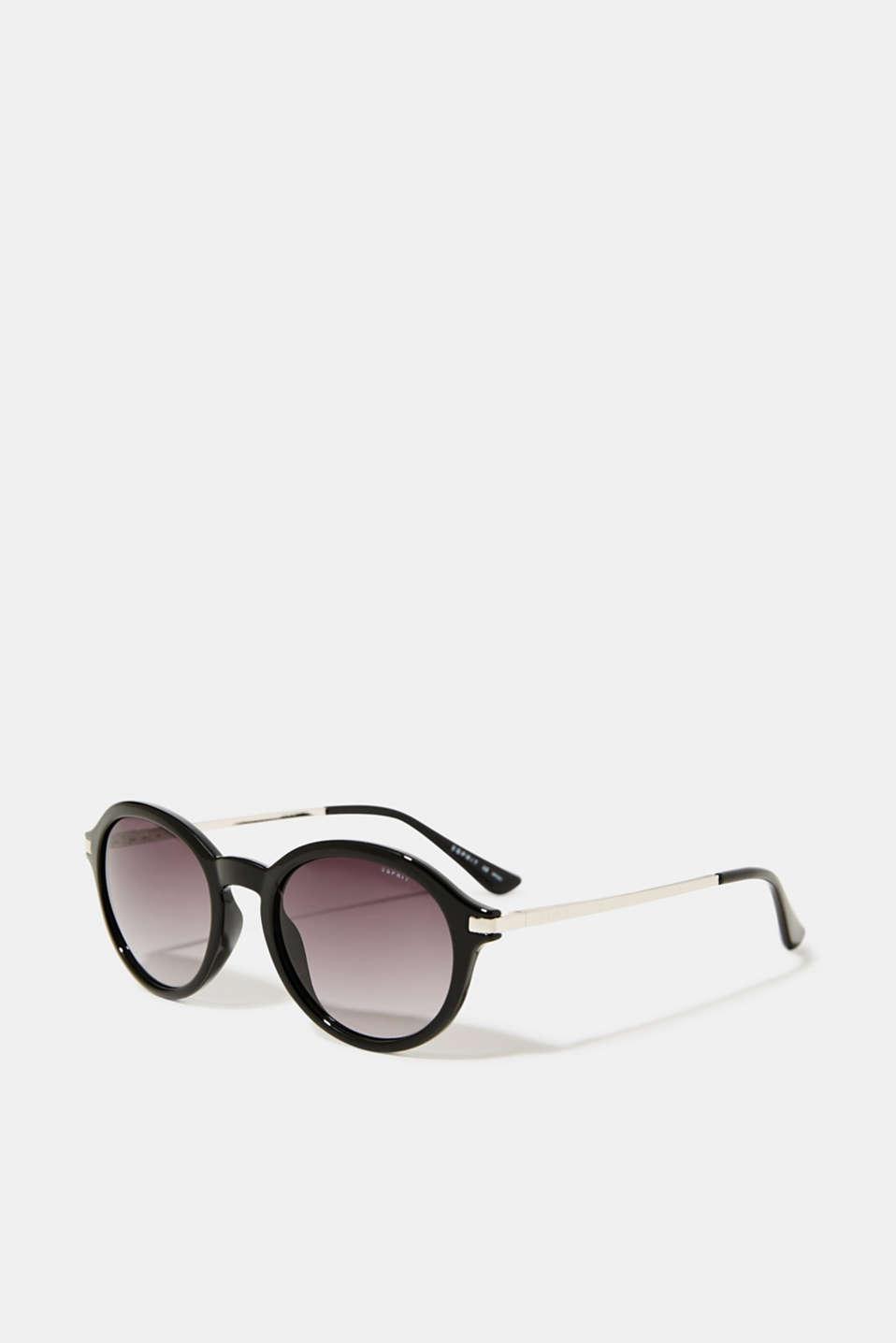Graduated colour sunglasses, LCBLACK, detail image number 0