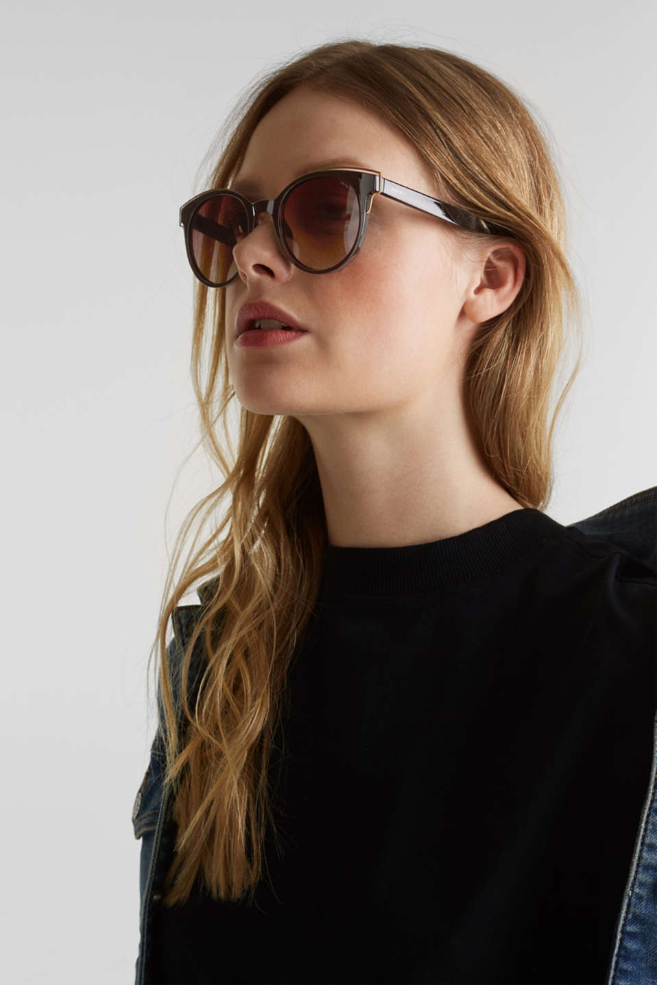 Sunglasses with polarised lenses, LCBROWN, detail image number 2