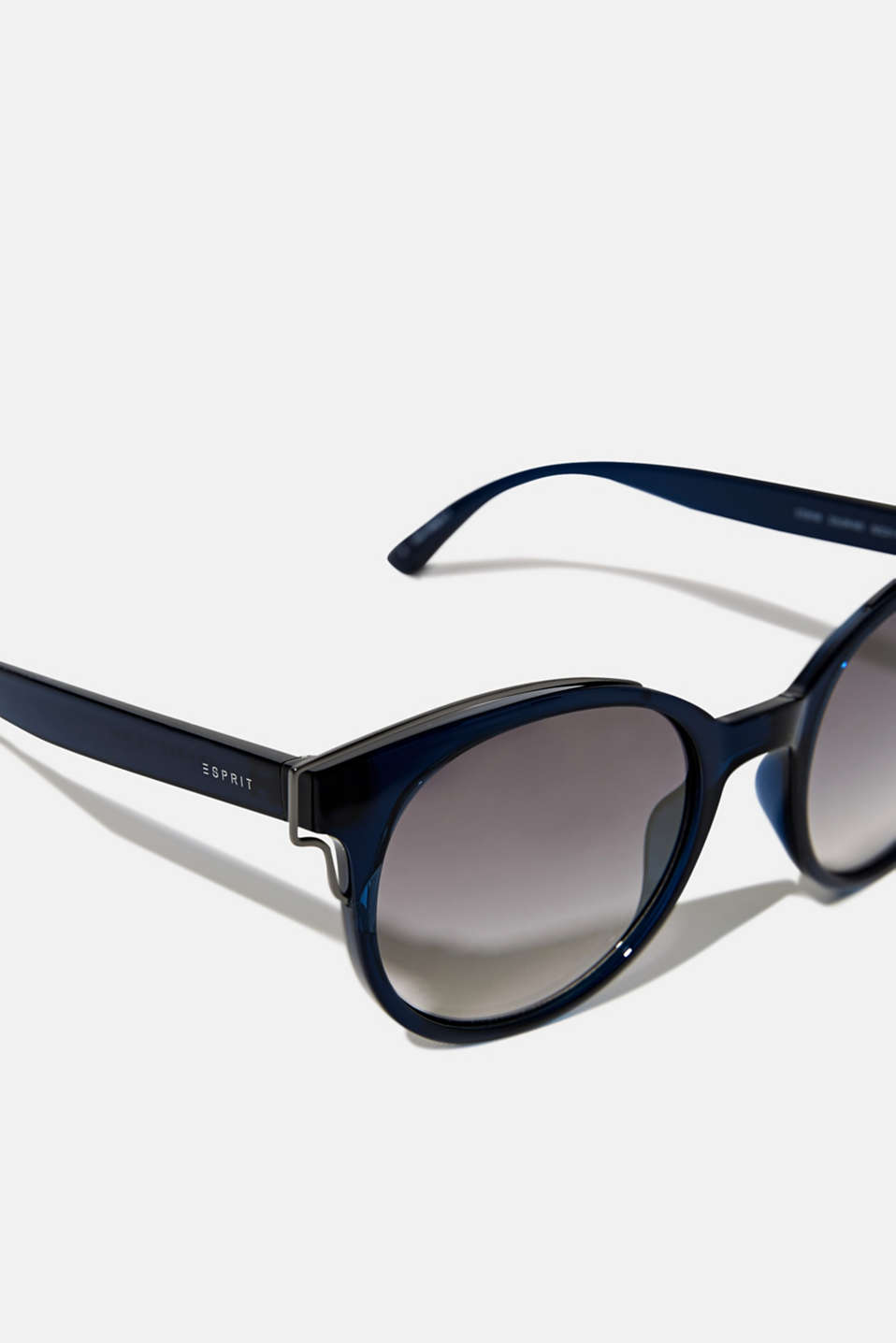 Sunglasses with metal accents, LCBLUE, detail image number 1