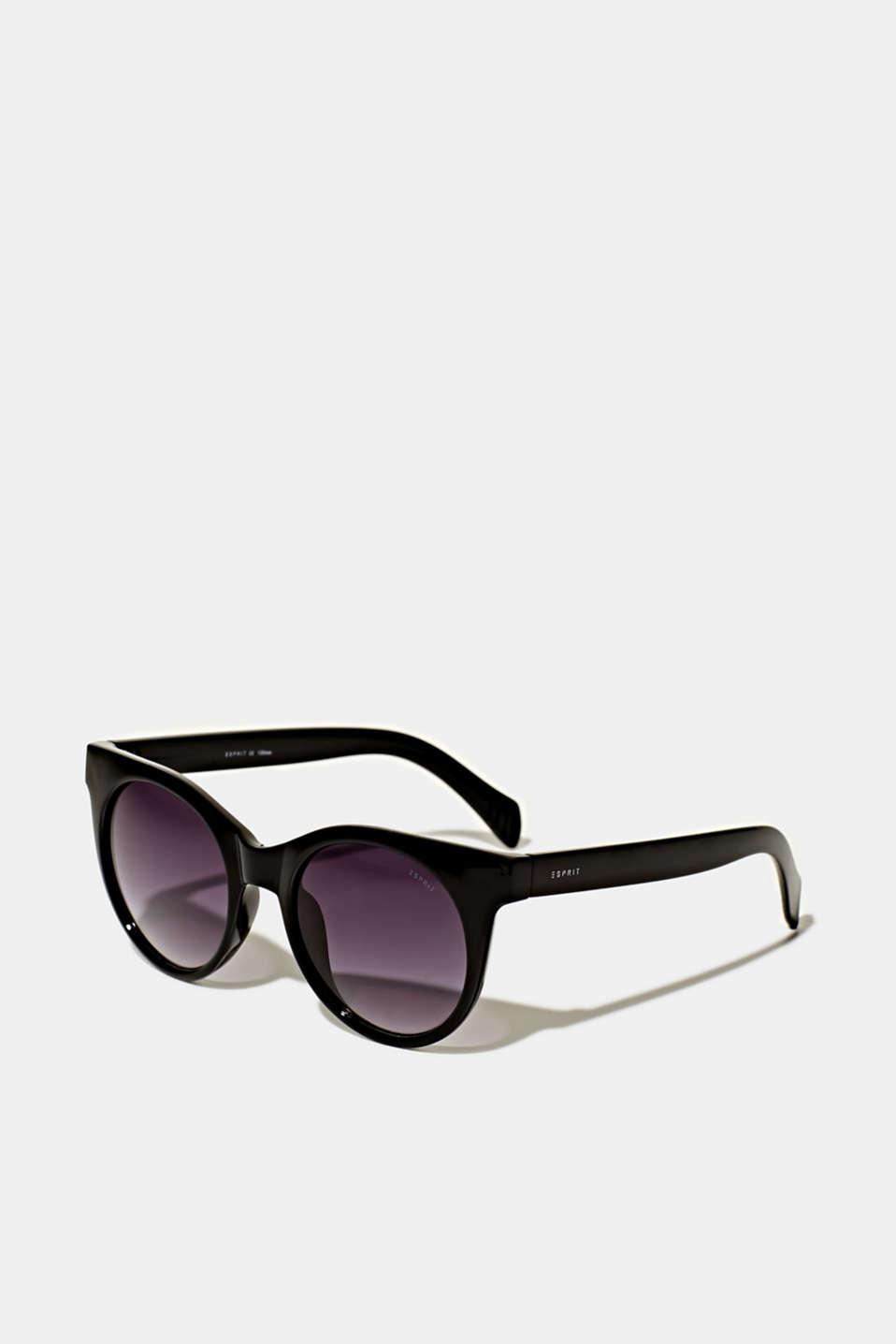 Sunglasses with transparent frame, LCBLACK, detail image number 0