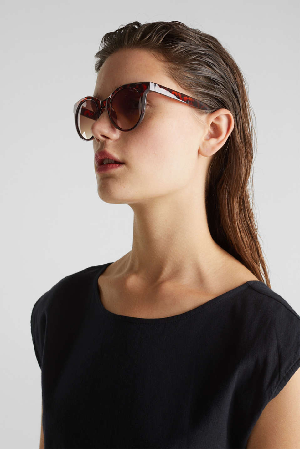 Sunglasses with transparent frame, LCHAVANNA, detail image number 2