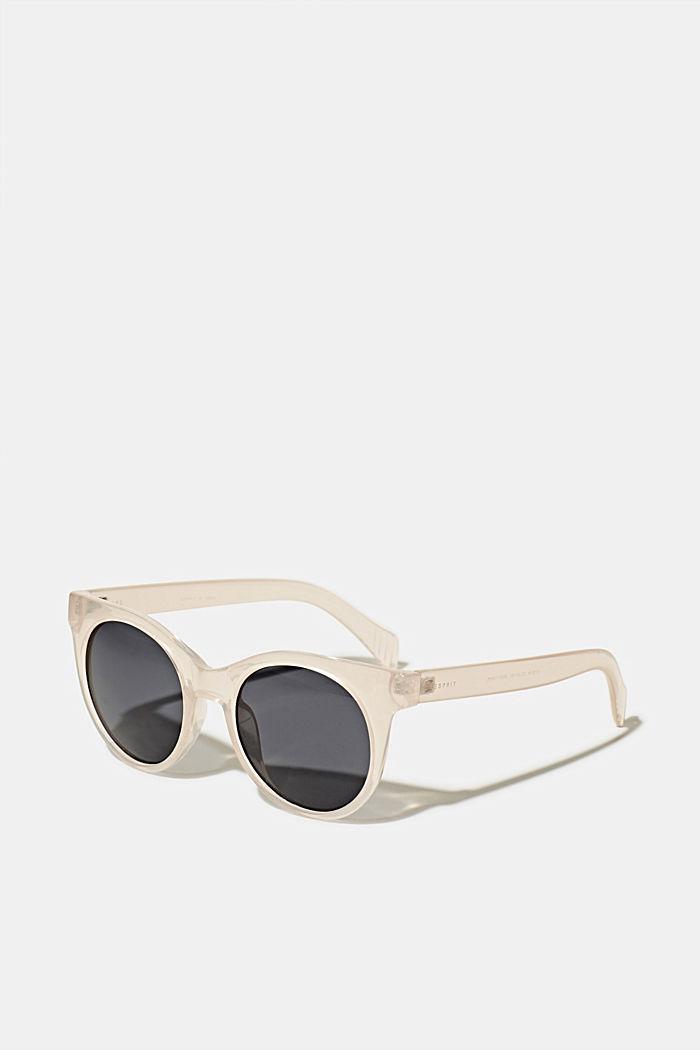 Sunglasses with transparent frame, BEIGE, detail image number 0