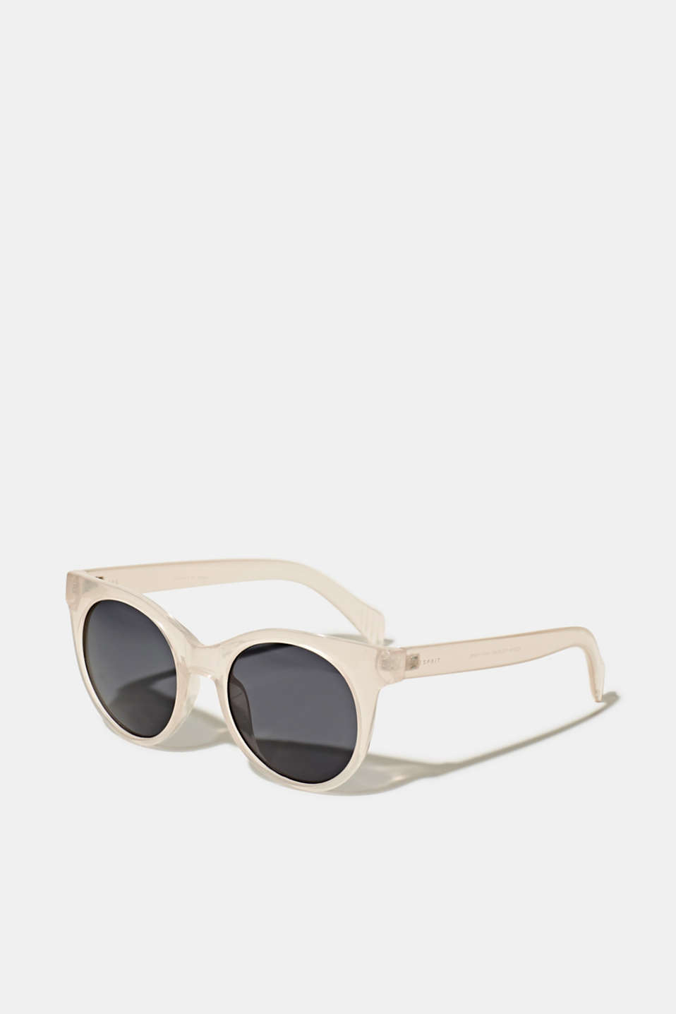Sunglasses with transparent frame, LCBEIGE, detail image number 0