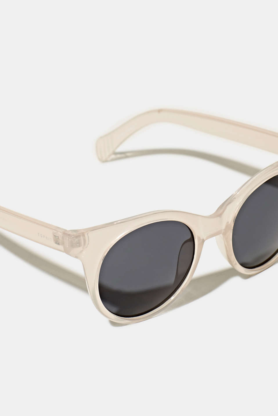 Sunglasses with transparent frame, LCBEIGE, detail image number 1