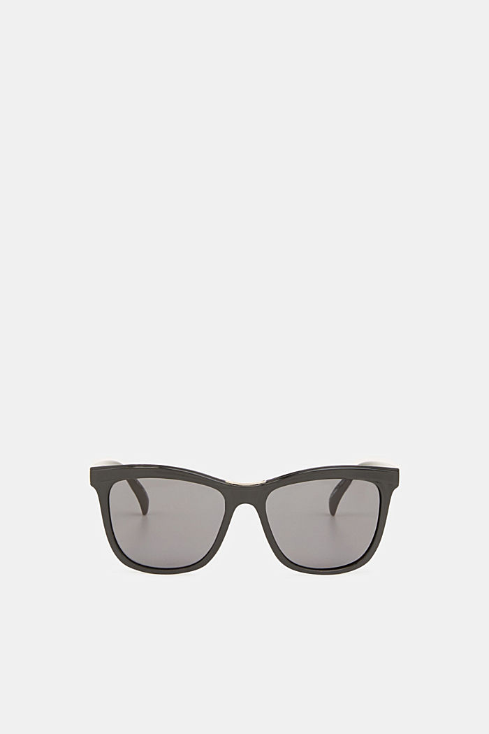 Sunglasses with a metal detail, BLACK, detail image number 0