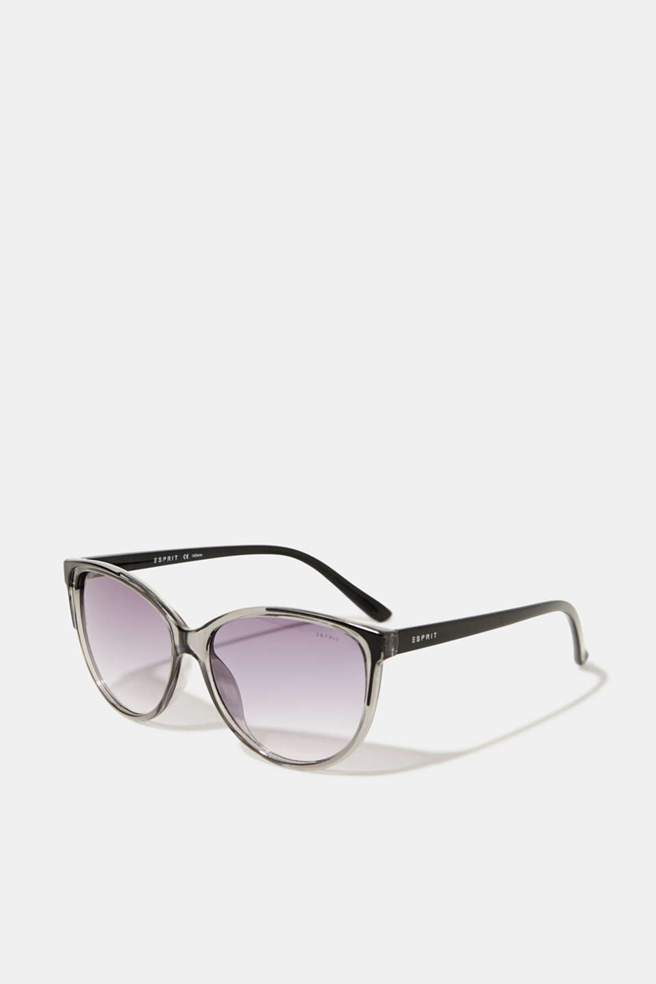Sunglasses with transparent frame, LCGRAY, detail image number 0