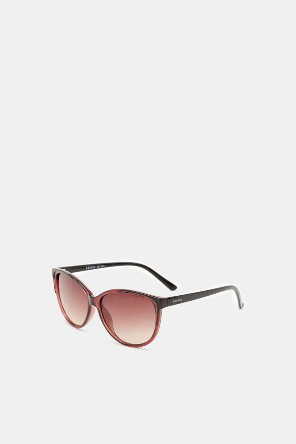 Sunglasses with transparent frame, LCCRANBERRY, detail image number 3