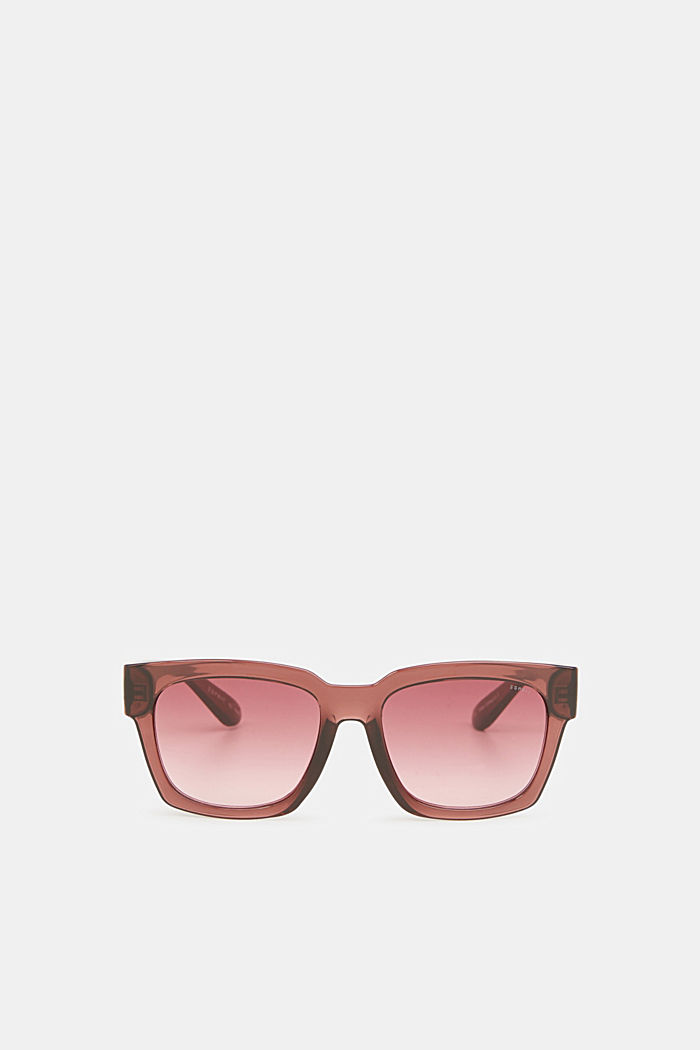Sunglasses with transparent frame, CRANBERRY, detail image number 0