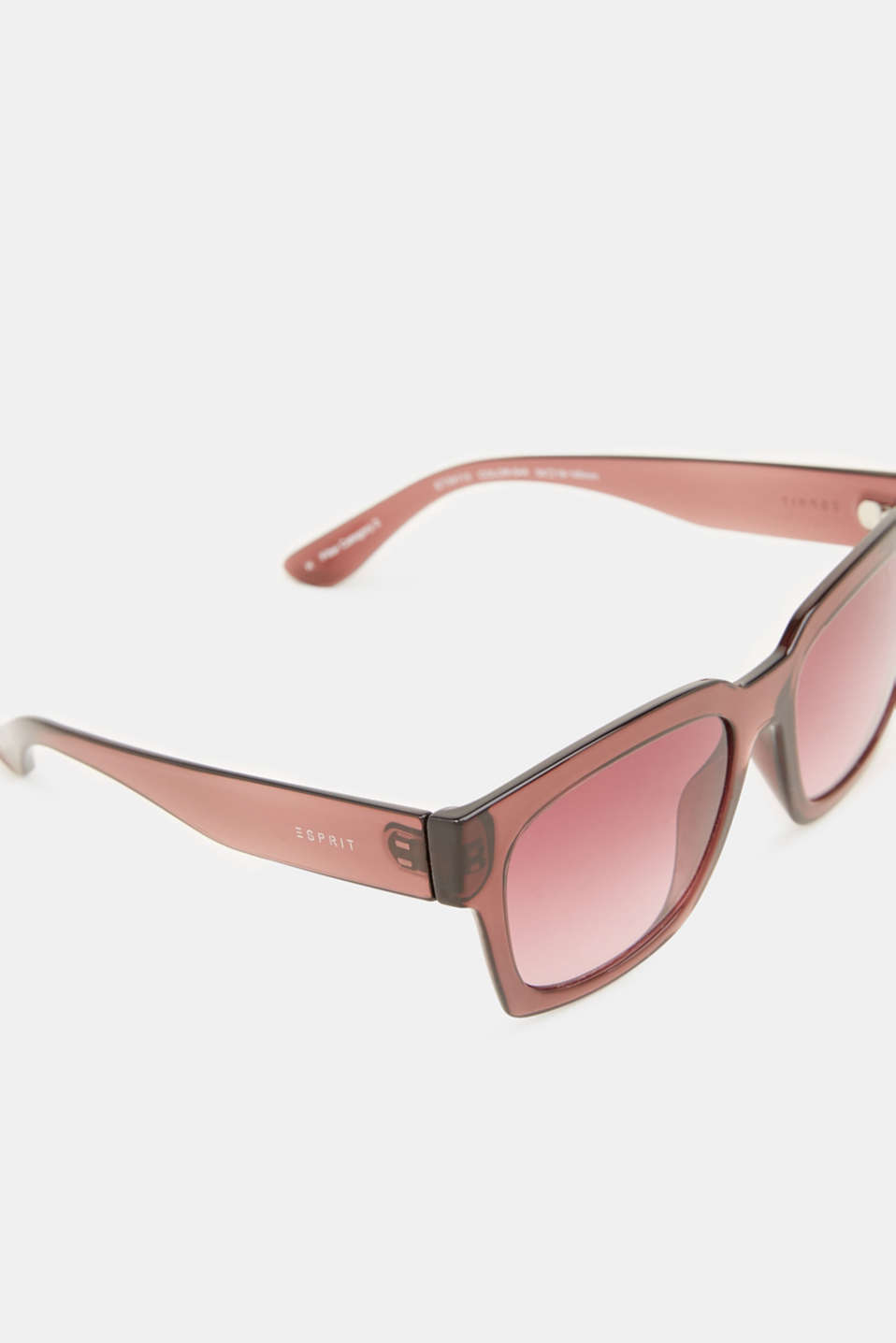 Sunglasses with transparent frame, LCCRANBERRY, detail image number 1