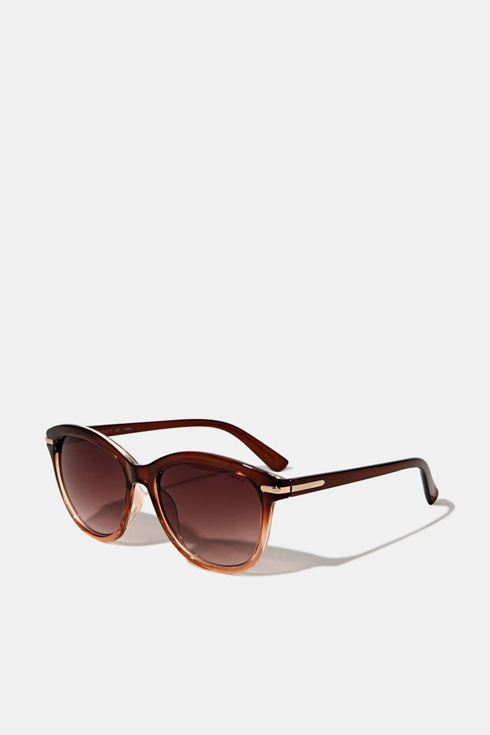 Graduated colour sunglasses, LCBROWN, detail image number 0