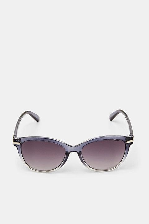 Graduated colour sunglasses