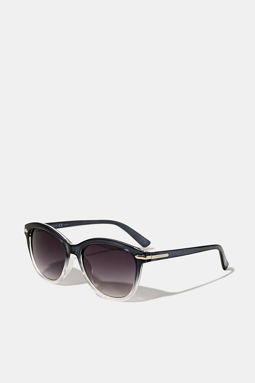 Graduated colour sunglasses