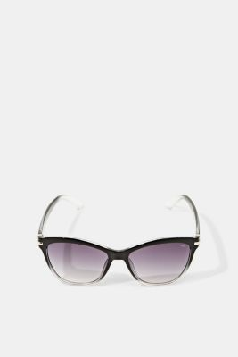 Sunglasses with metal temples, BLACK, detail