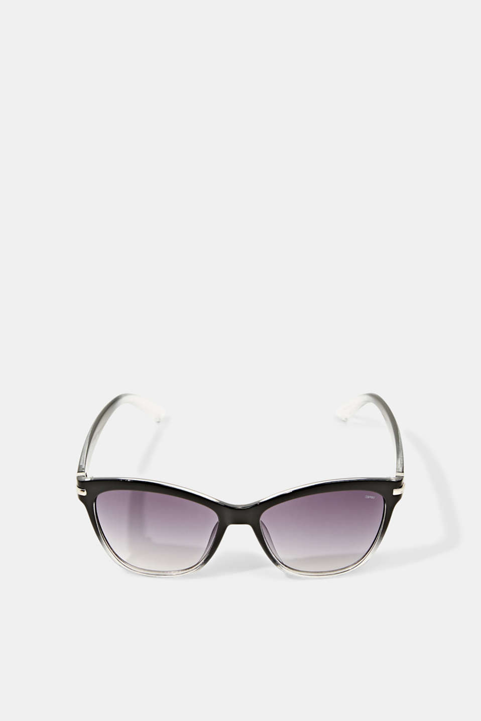 Sunglasses with metal temples, BLACK, detail image number 0