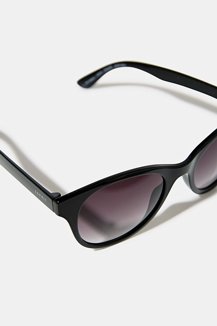 Sunglasses with a timeless design, BLACK, detail image number 1