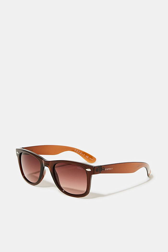 Plastic sunglasses, BROWN, detail image number 0