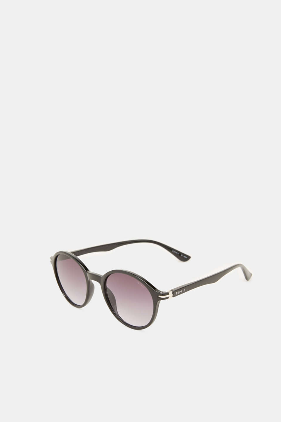 Sunglasses with transparent frame, LCBLACK, detail image number 3