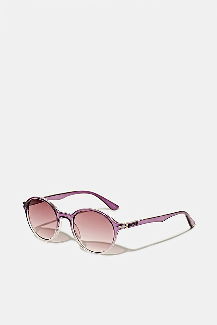 Sunglasses with transparent frame, PURPLE, detail image number 0