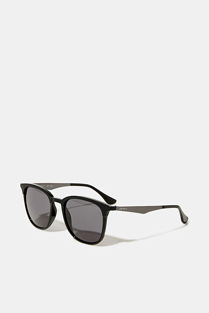 Sunglasses with a matte-shiny effect