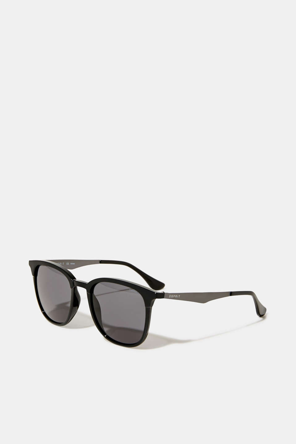 Sunglasses with a matte-shiny effect, LCBLACK, detail image number 0