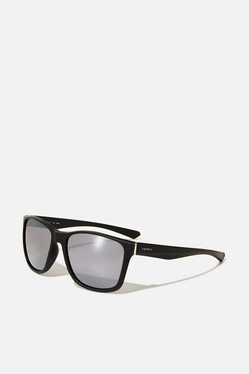 Lightweight plastic sunglasses, LCMATT BLACK, detail image number 0