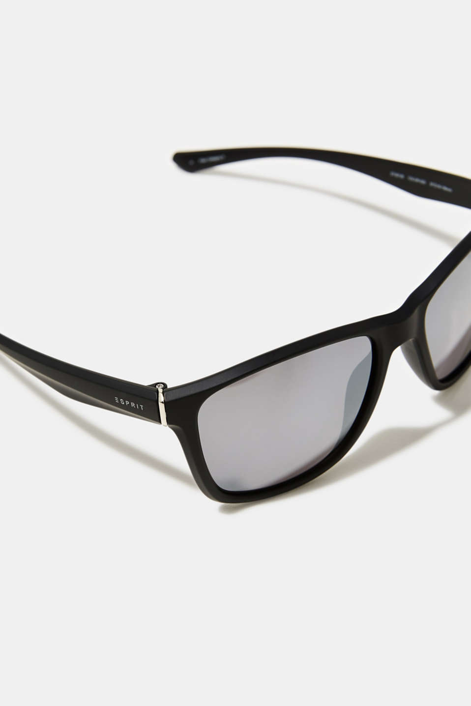 Lightweight plastic sunglasses, LCMATT BLACK, detail image number 1
