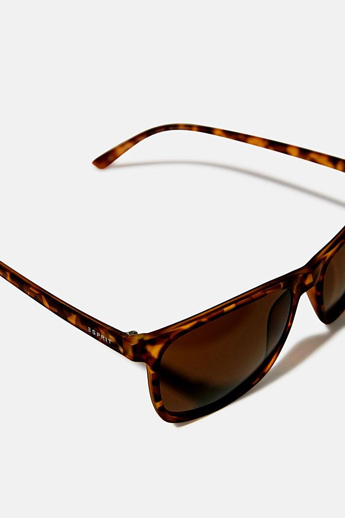 Lichte zonnebril van acetaat, HAVANNA, detail image number 1