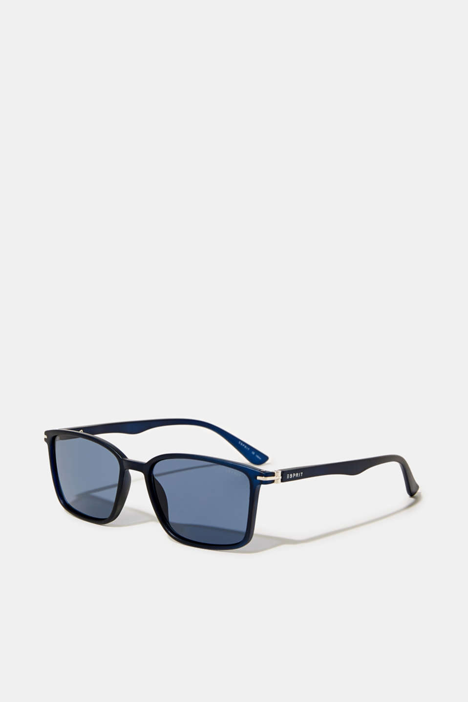 Lightweight plastic sunglasses, LCNAVY BLUE, detail image number 0