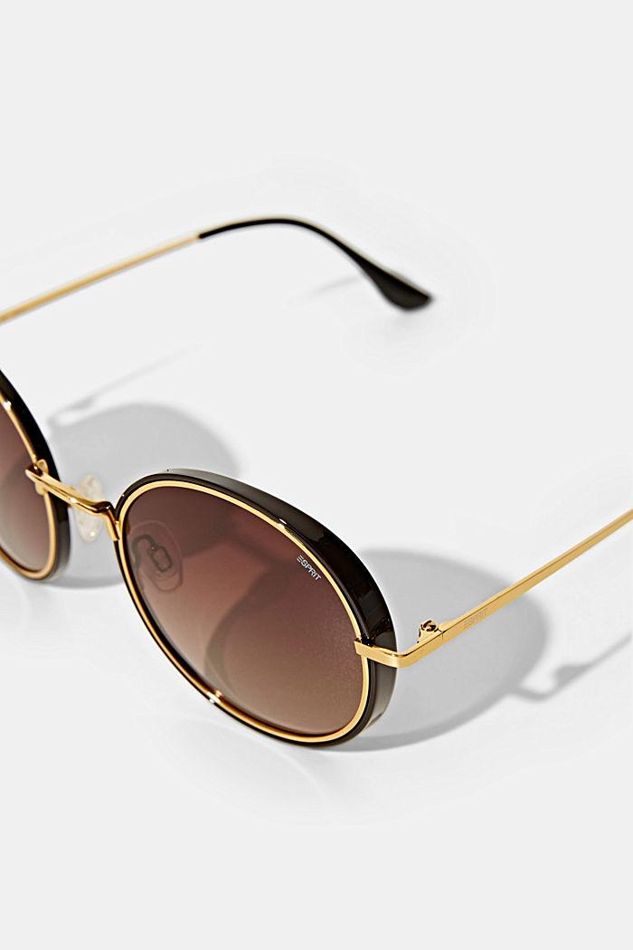 Sonnenbrille mit polarisierte Gläsern, BROWN, detail image number 1