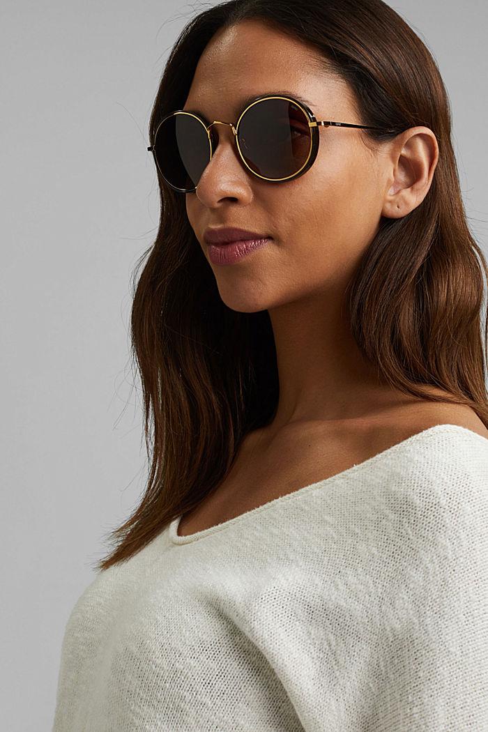 Sonnenbrille mit polarisierte Gläsern, BROWN, detail image number 2