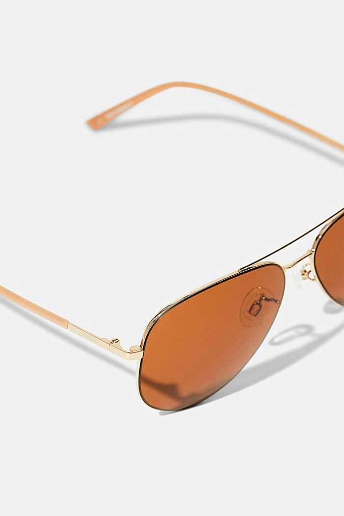 Sonnenbrille im Aviator-Style, BROWN, detail image number 1