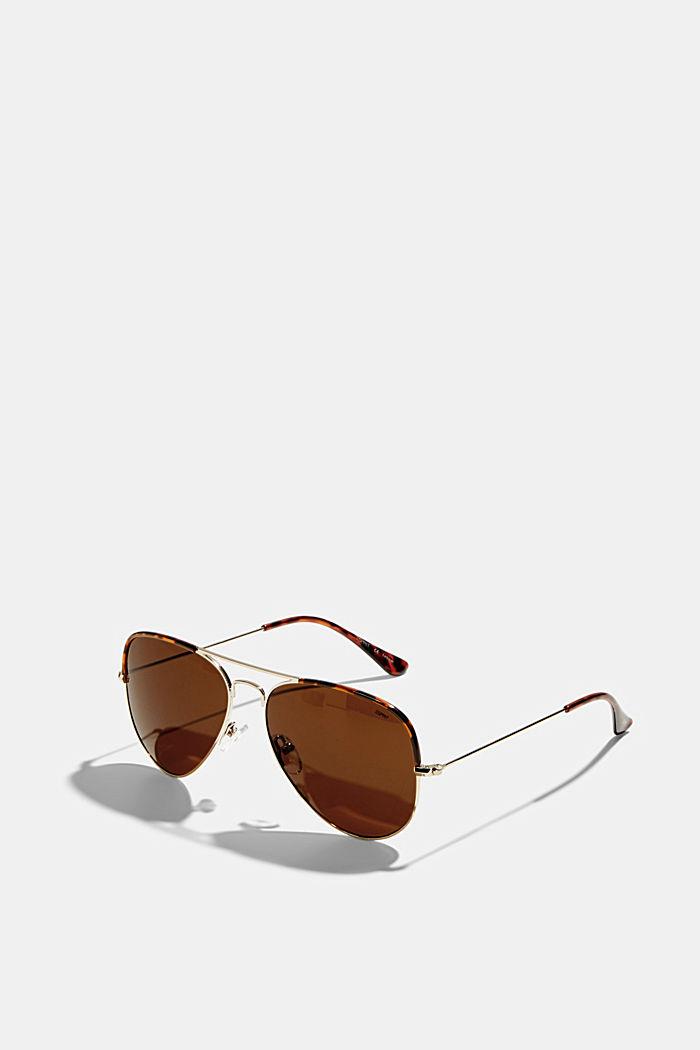 Unisex-Sonnenbrille im Aviator-Style
