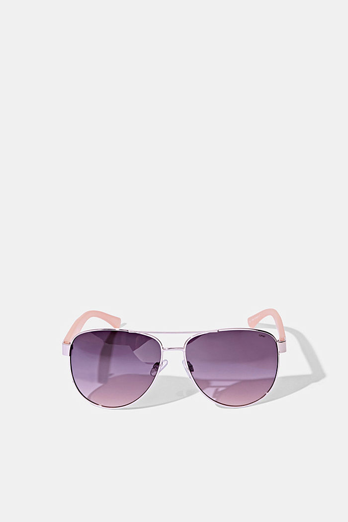 Unisex-Sonnenbrille im Aviator-Style, ROSE, detail image number 0