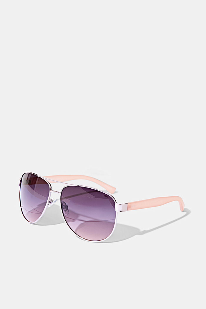 Unisex-Sonnenbrille im Aviator-Style, ROSE, detail image number 3