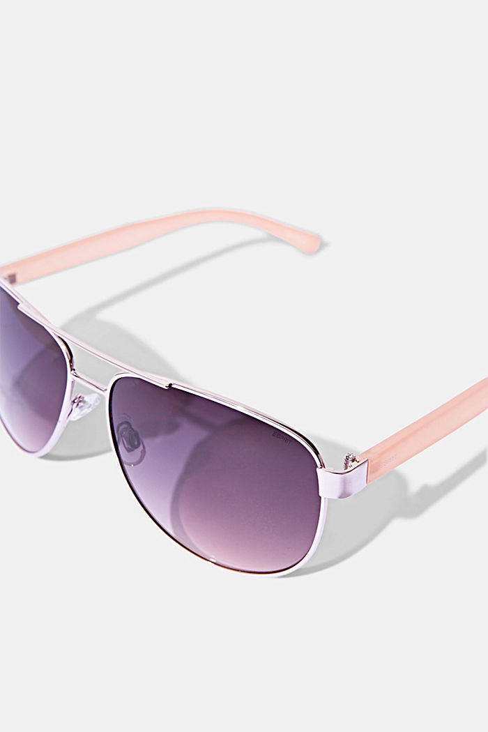 Unisex-Sonnenbrille im Aviator-Style, ROSE, detail image number 1
