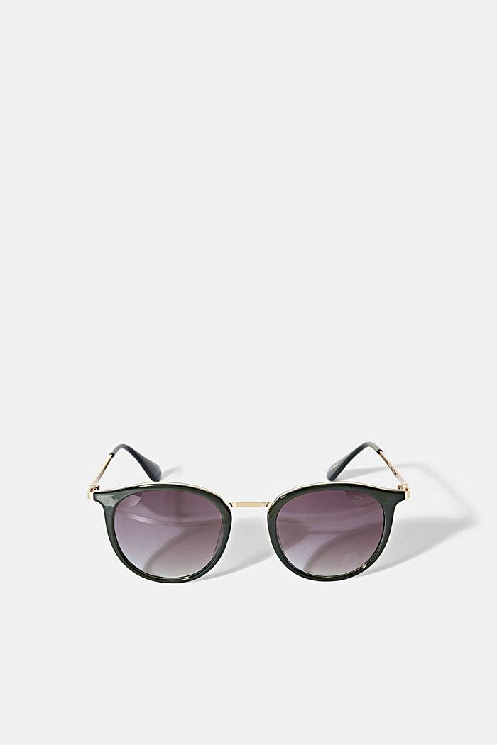 Sonnenbrille im Retro-Look, GREEN, detail image number 0