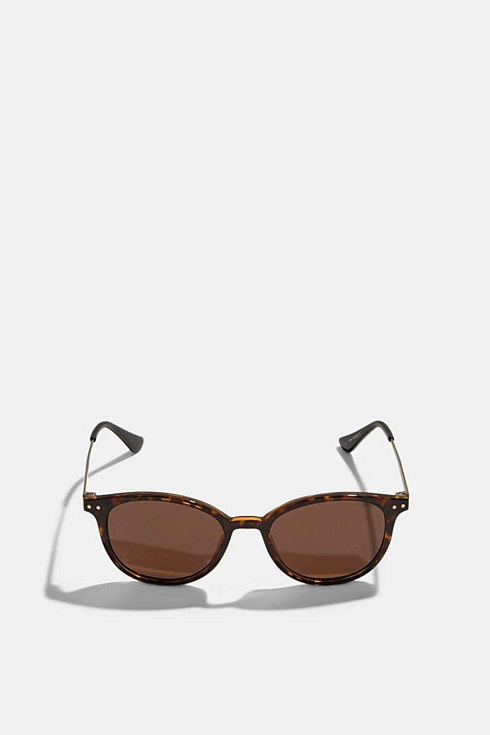 Retro-style sunglasses, HAVANNA, detail image number 0