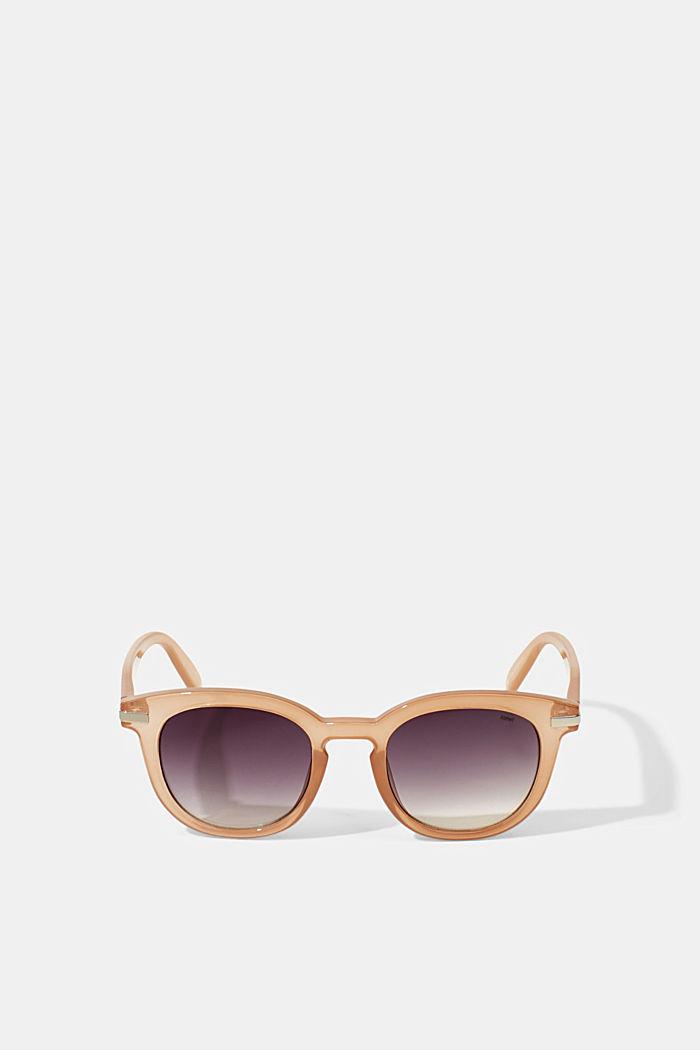 Runda solglasögon med bred båge, BEIGE, detail image number 3