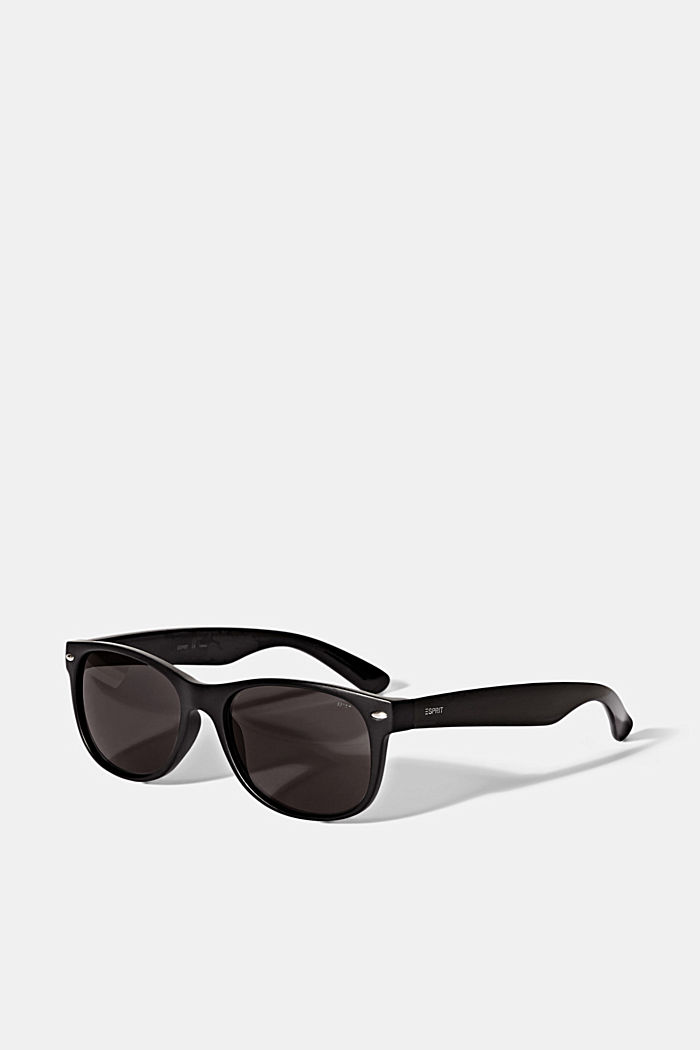 Sunglasses with a timeless design, BLACK, detail image number 3