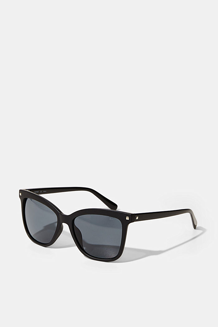 Square sunglasses with stud details