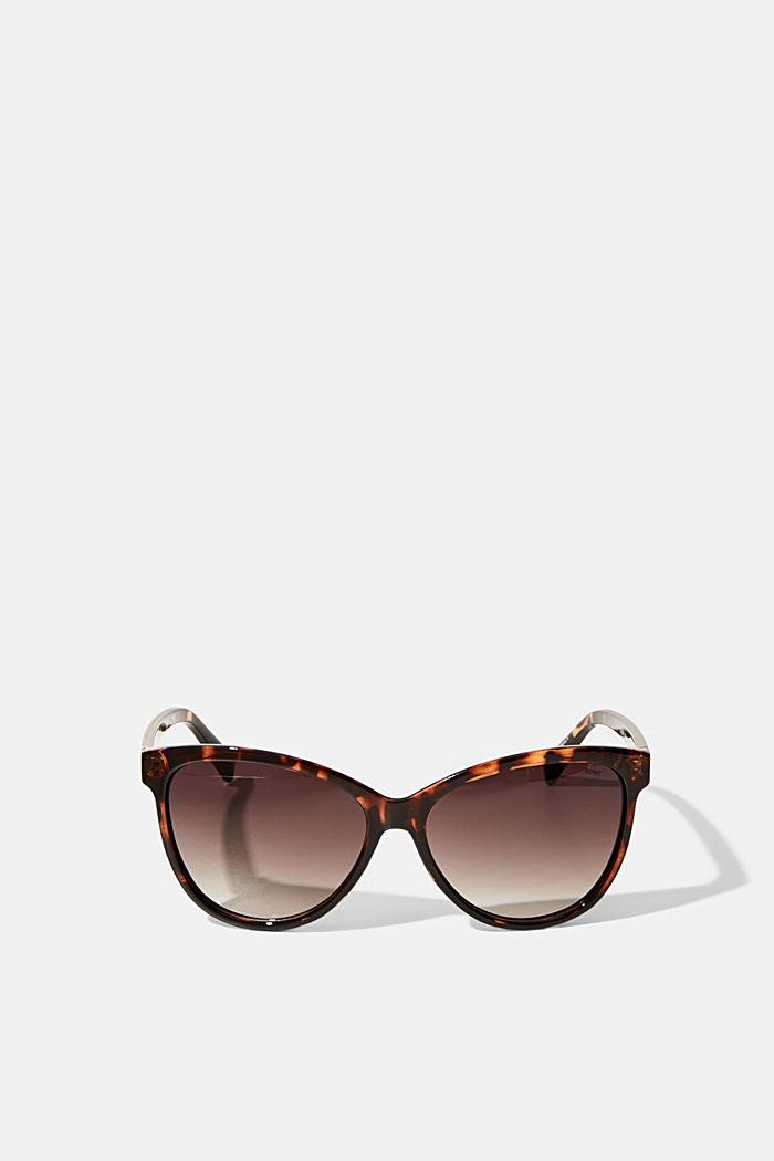 Gafas de sol estilo ojo de gato con acabado tipo carey, HAVANNA, detail image number 0