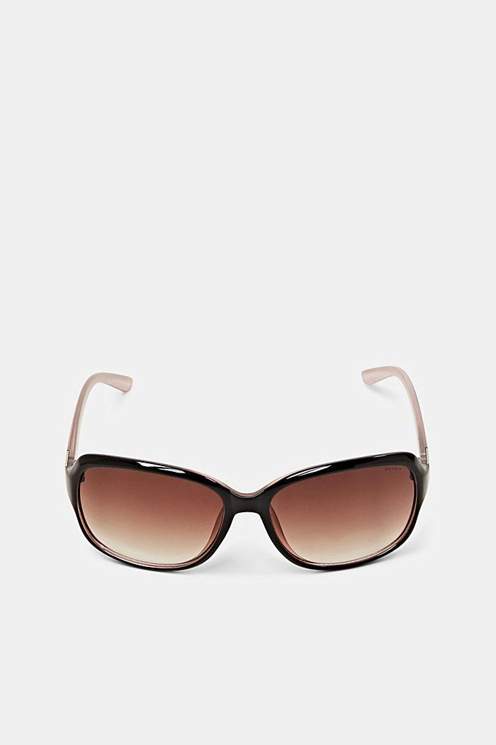 Sonnenbrille mit zeitlosem Design, BROWN, detail image number 0